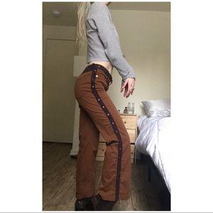 🐰90s VTG // Eyelet Flare Trousers